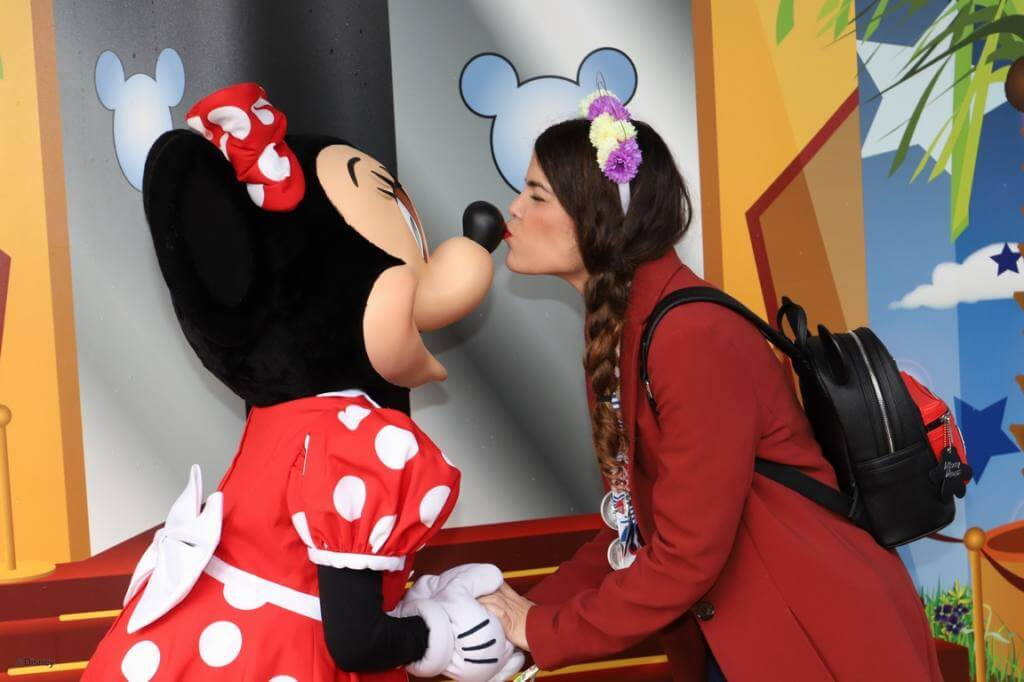 macarena con minnie